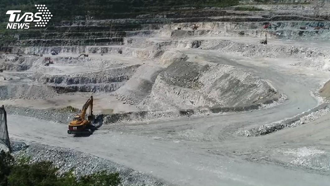 圖/TVBS 礦業法卡關 經長:各利害關係人看法不一致
