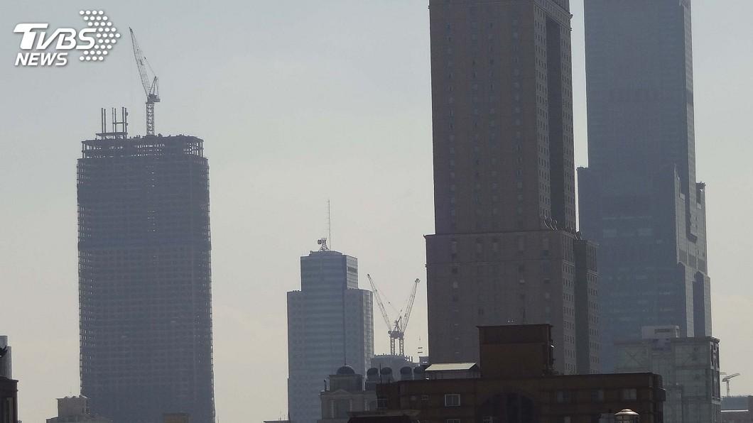 圖/中央社 環署更新空氣品質標準 PM2.5濃度維持不變