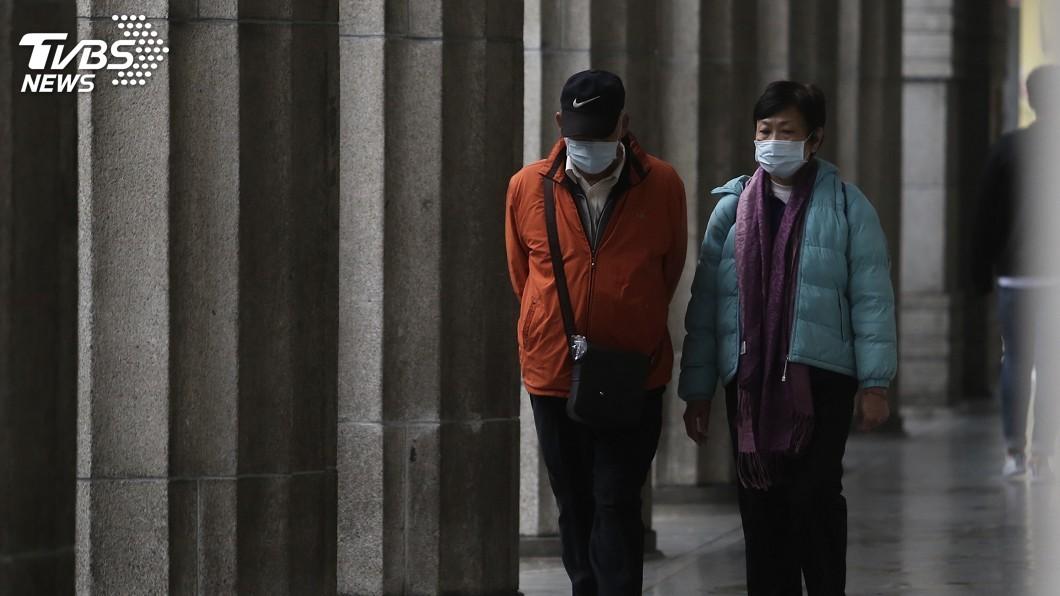 (圖/中央社) 入秋首波霾害報到 西半部空氣品質恐亮橘燈