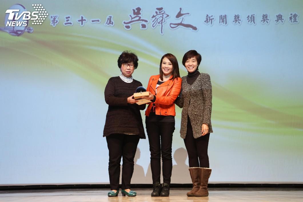圖/TVBS TVBS新聞台《以色列創意興國》榮獲吳舜文新聞獎