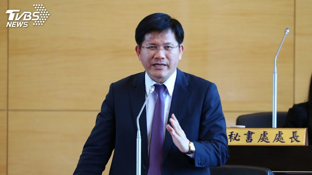 圖/中央社 傳內閣將改組 林佳龍建議多下鄉宣傳政績