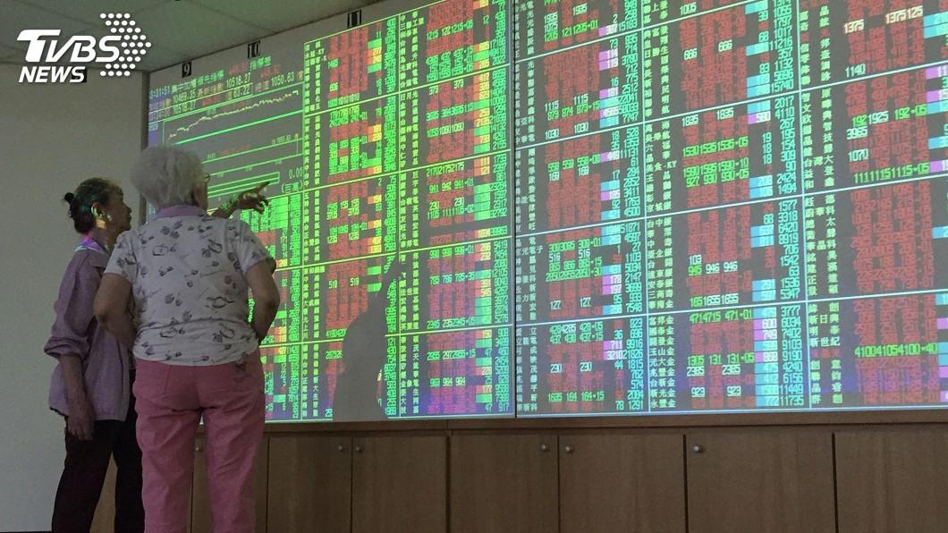 圖/中央社 大立光填息激勵 台股一度翻紅