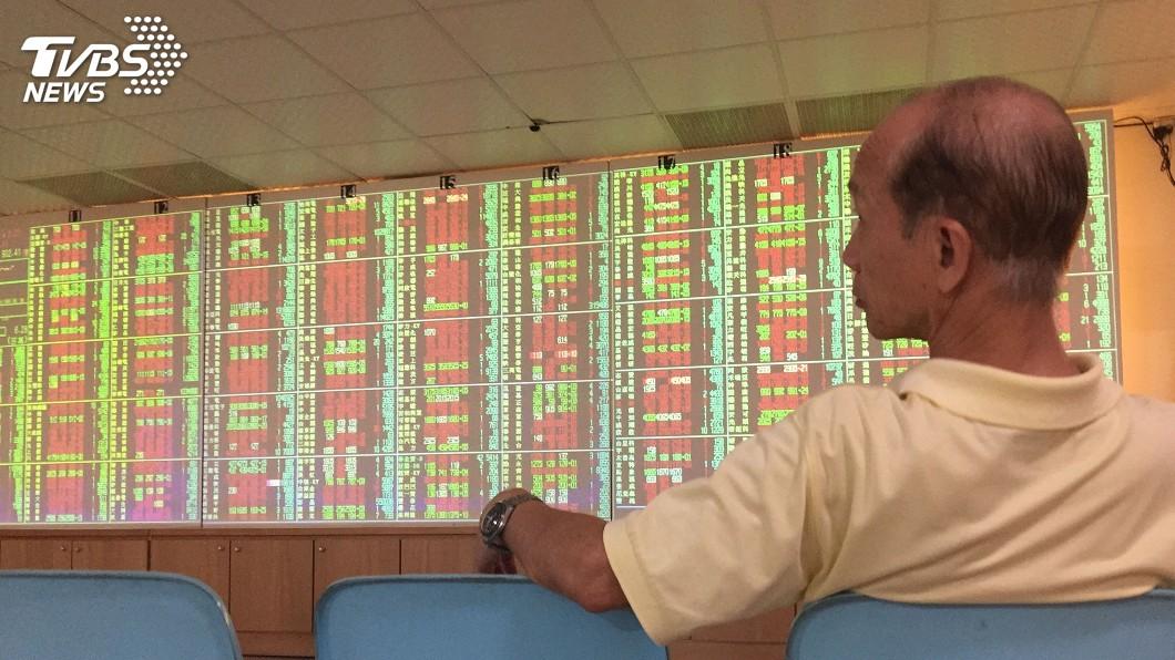 圖/中央社 科技股走強 台股重返月線