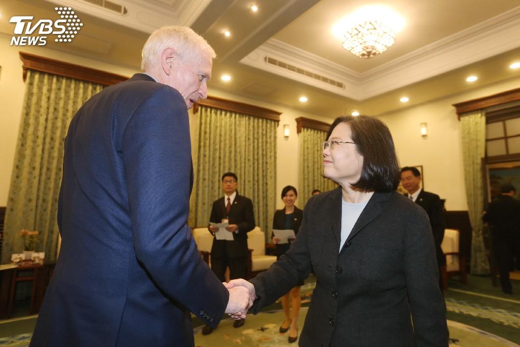 圖/中央社 T怪客踢新聞/台灣首都在華盛頓