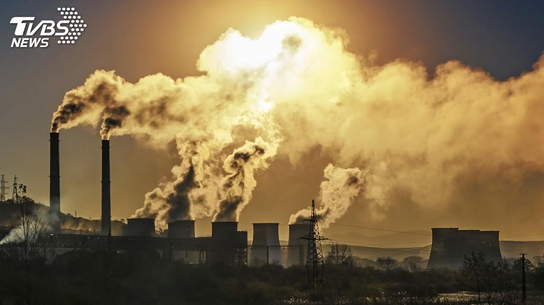 示意圖/TVBS 全球CO2排放量持續攀升 2018年增長2.7%