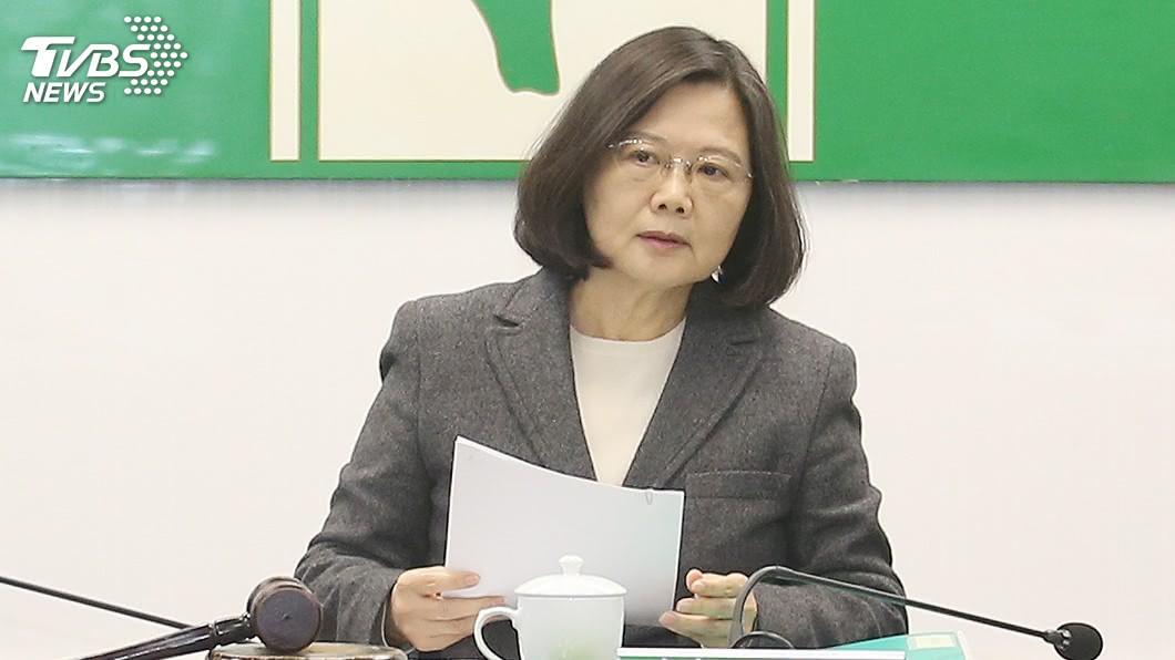 圖/TVBS 這件事重傷蔡英文! 54.5%不贊同小英施政創新高