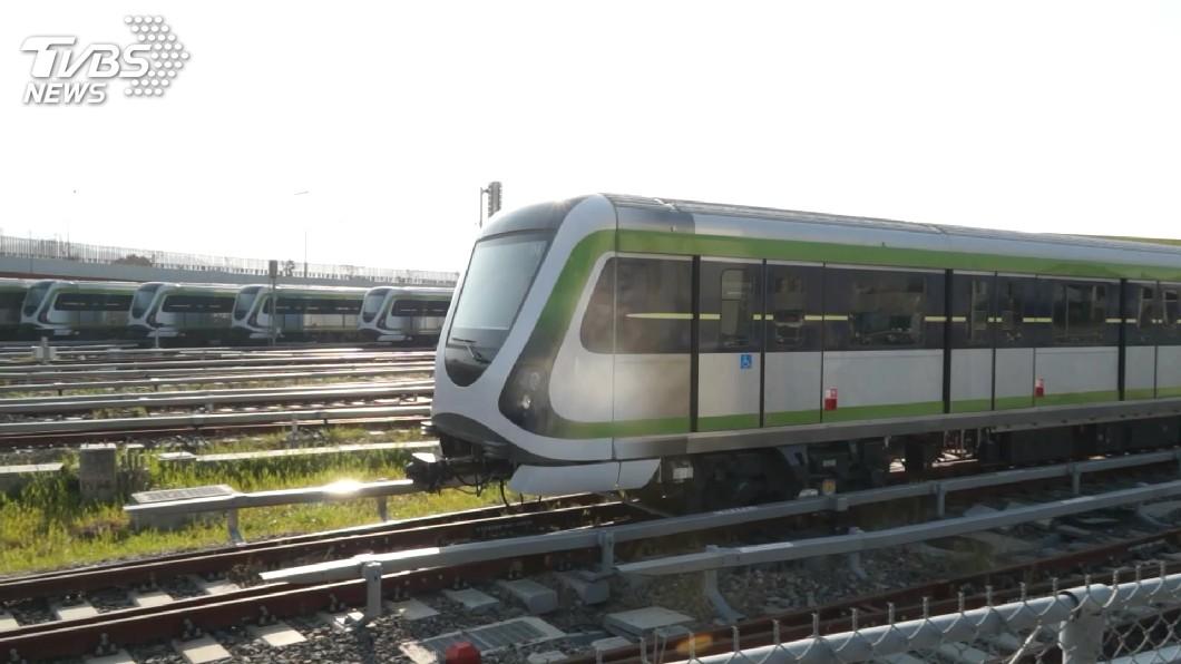 圖/TVBS 台中捷運機電系統測試 家長反映音量干擾學生