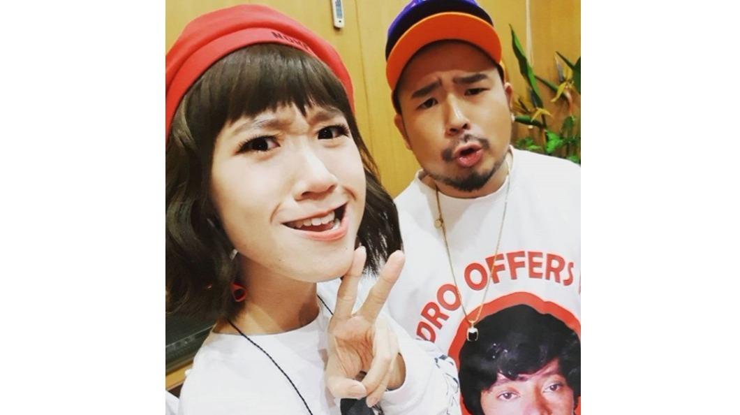 藝人阿達和LULU大方曬愛,粉絲頻催快結婚。圖/TVBS 演藝圈情侶檔 網友看衰「會分」是他們