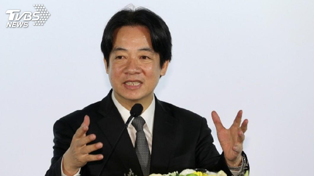 圖/中央社 同婚專法表決 賴清德:台灣將有一道歷史性彩虹