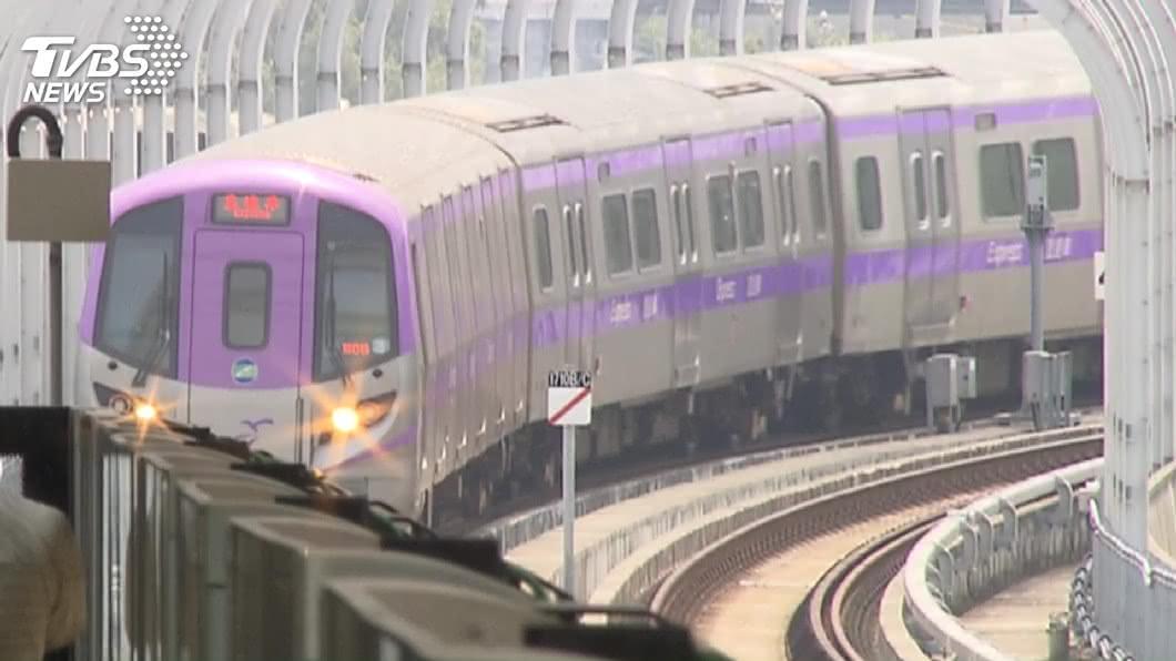 圖/TVBS 疫情致機捷運量減半 離峰直達車將改30分鐘一班