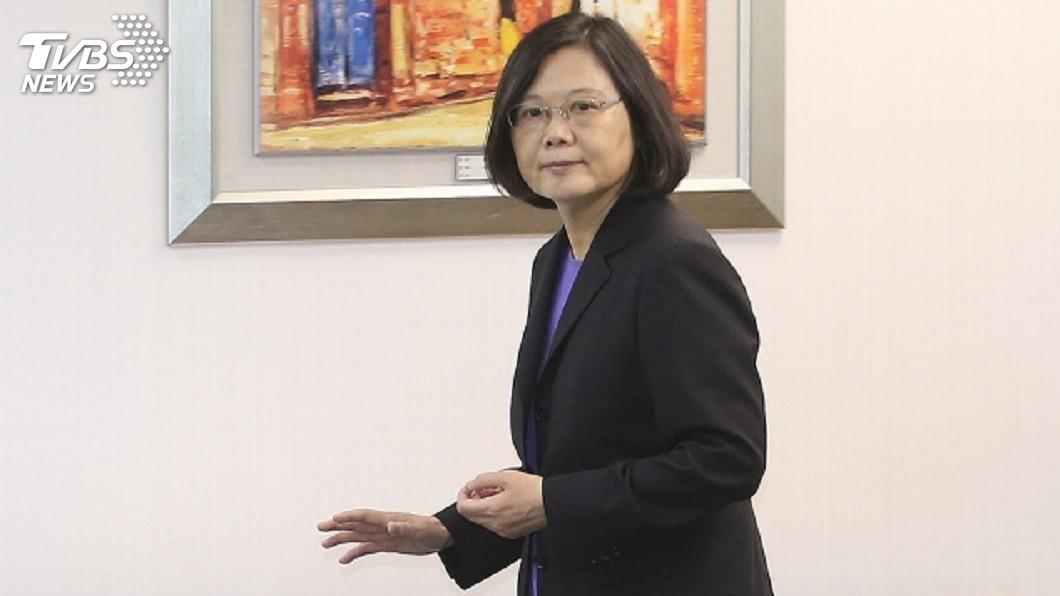 圖/中央社 美前官員籲邀蔡總統赴國會演說 外交部:無規劃