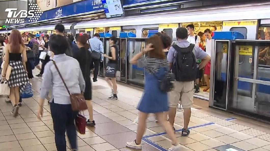 (示意圖,與新聞事件無關。圖/TVBS) 台北捷運警察隊規劃「獵狼專案」 保障旅客安全