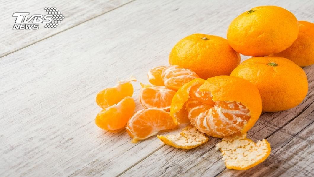 橘子象徵大吉大利。示意圖/TVBS