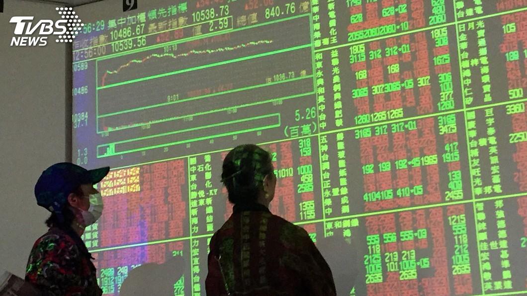 圖/中央社 台股基本面缺利多 法人估走勢震盪到6月