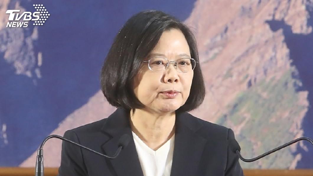 圖/中央社 蔡總統首創三軍專科學校開學典禮 6日親自出席