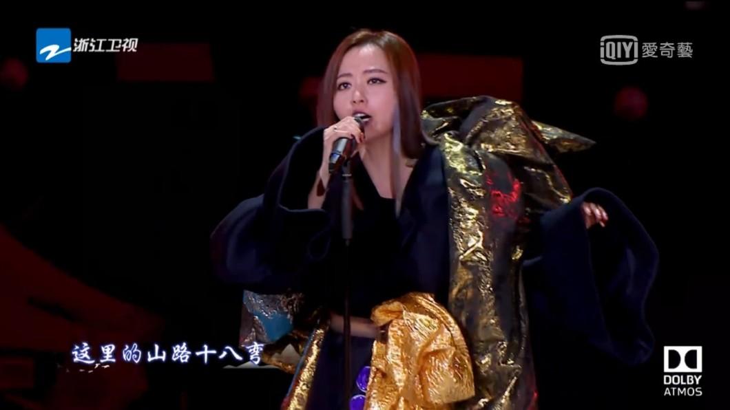圖/翻攝自愛奇藝台灣站《夢想的聲音2》節目片段