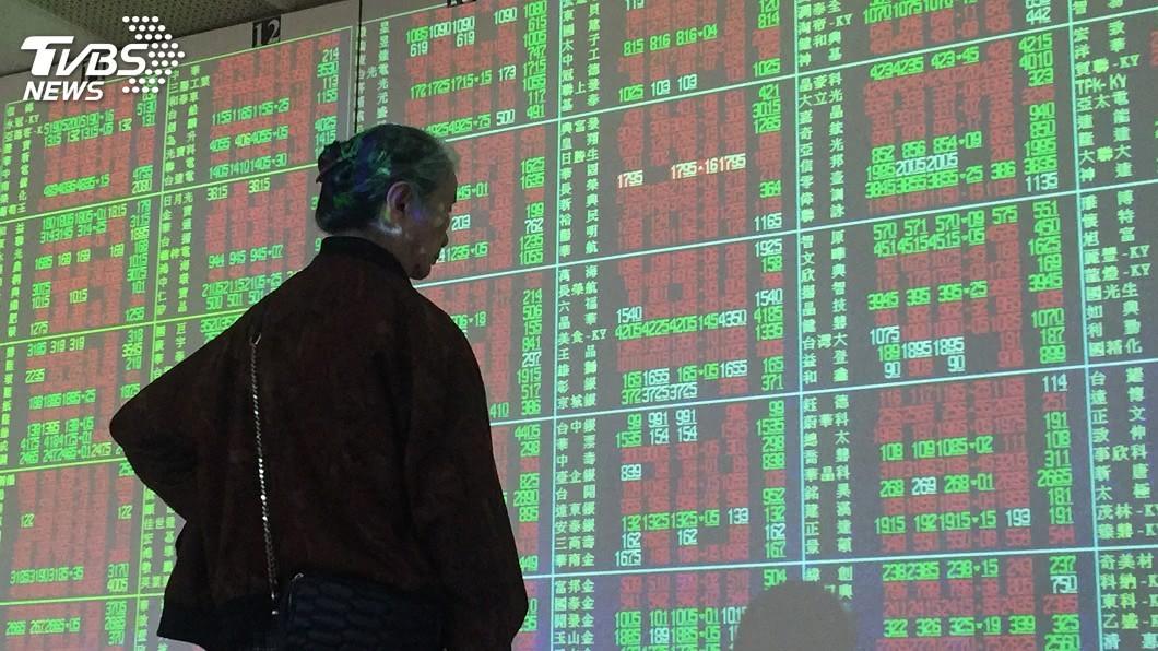 圖/中央社 台股上下震盪150點 下檔有撐守住10100點