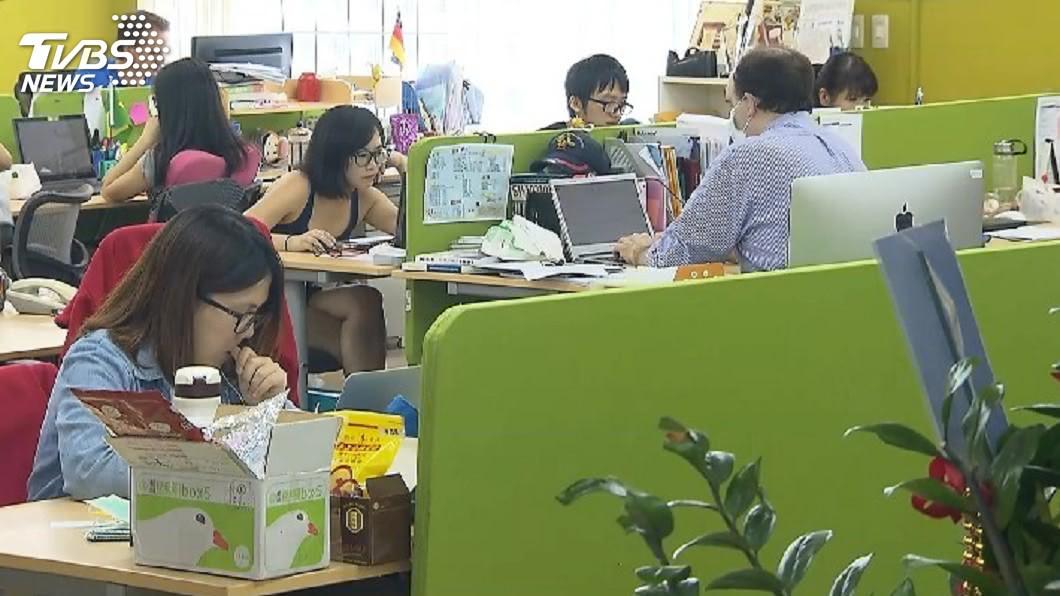圖/TVBS 8成4上班族曾換工作 近3成未滿一週就快閃