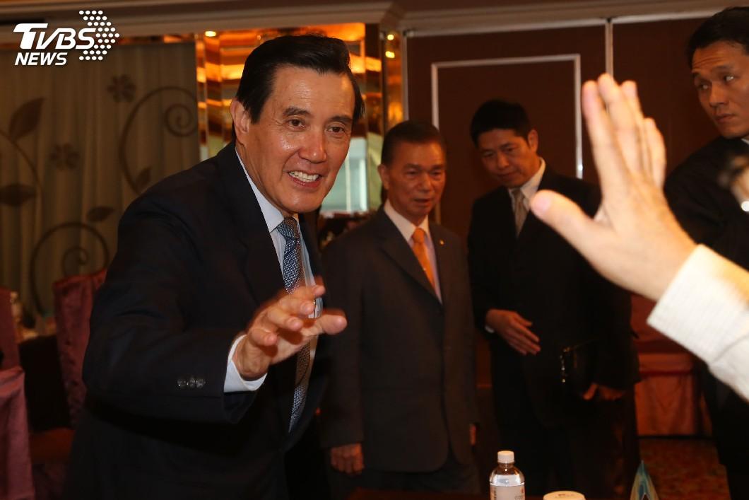 圖/中央社 馬英九獲准4月赴美 總統府:預祝旅途順利