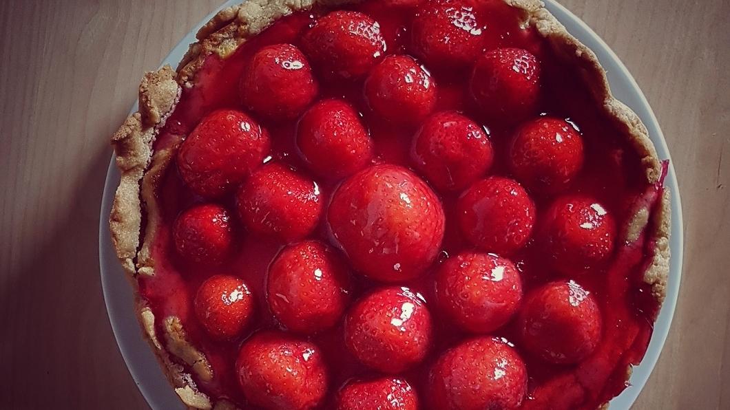 示意圖。圖/翻攝自visualhunt網站 清寒嬤借錢買蛋糕挨轟 甜點師製作草莓塔送暖
