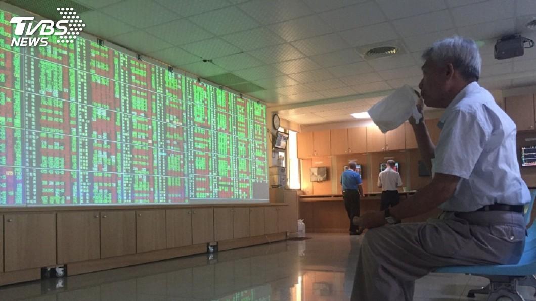 圖/中央社 美股收低 台股月線有撐後勢看量能