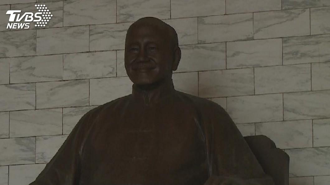 圖/TVBS資料畫面 促轉會喊拆蔣公銅像 國防部不從:「維持現狀」