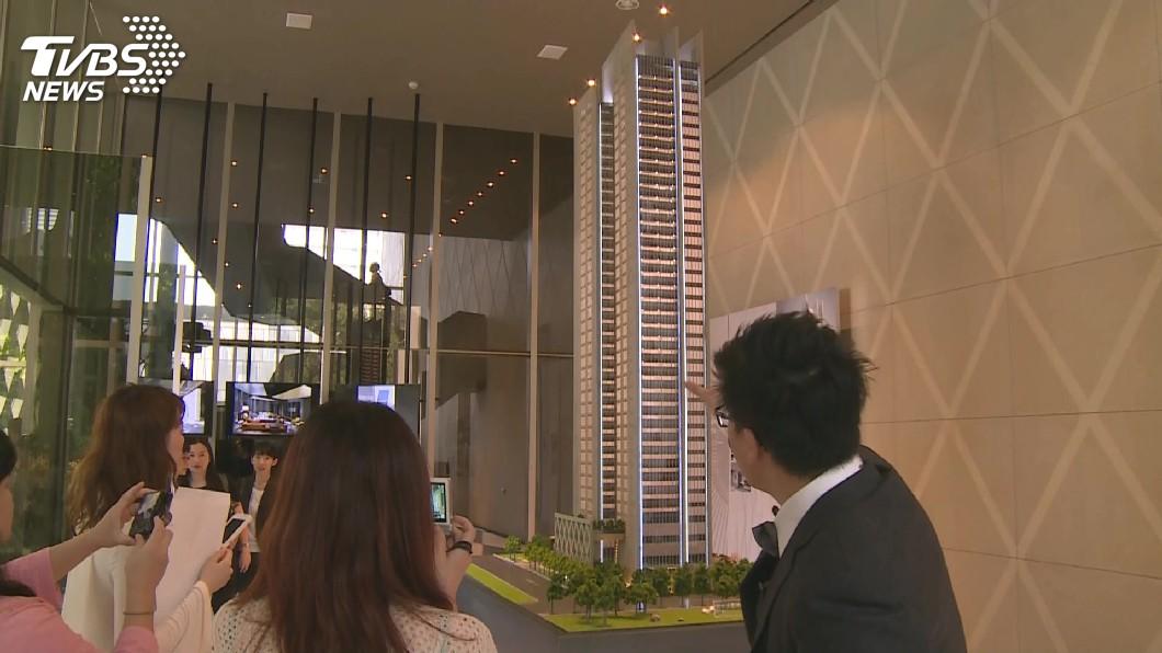 圖/TVBS 看好房市猛推案 北台灣可售戶飆4年新高
