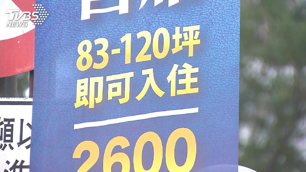 圖/TVBS 6月全台房市交易量月減年增 買賣方拉鋸
