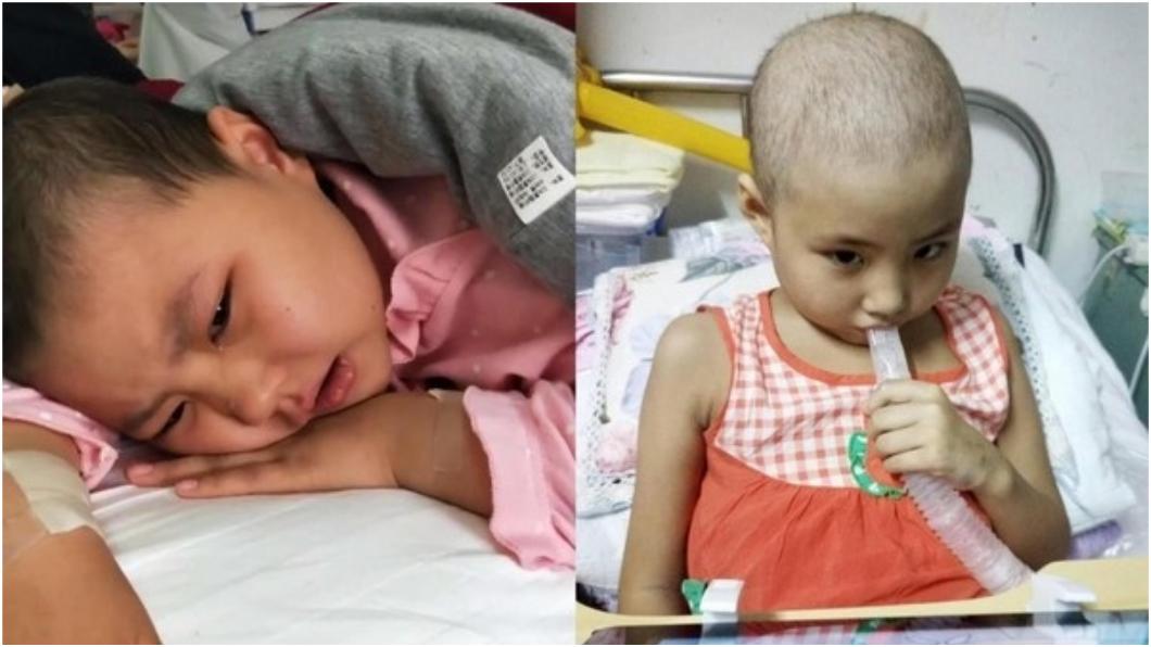 圖/取自大陸微博 沒錢治…8歲癌童勸母「生妹妹陪妳」 拔氧氣罩亡