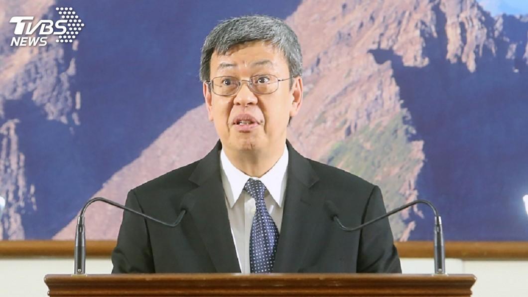 圖/中央社 李來希吃微波披薩 副總統陳建仁:譁眾取寵