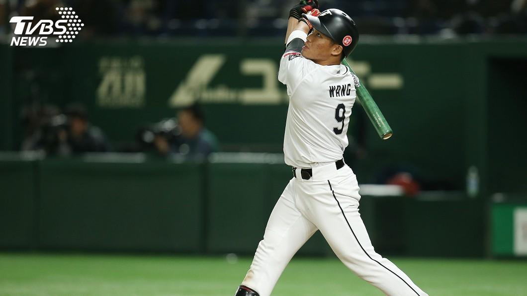 圖/中央社 王柏融加盟火腿隊 日媒推測球衣背號「99號」