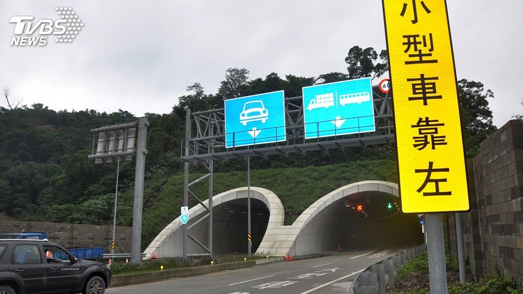 圖/中央社 蘇花改禁機車路段 舊蘇花公路封路下可戒護通行