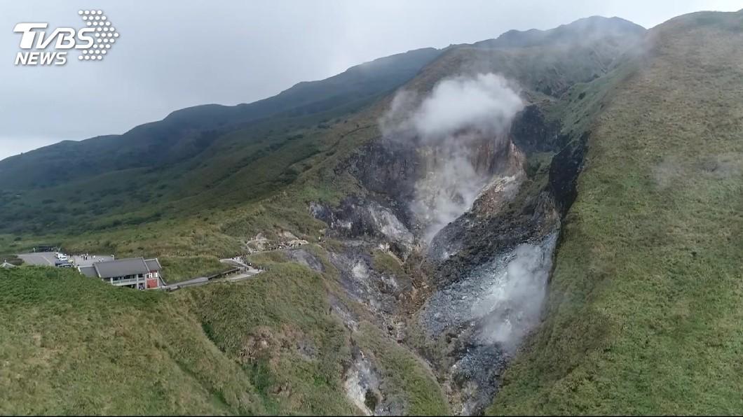 圖/TVBS資料畫面 北投凌晨規模3.2地震 氣象局:火山活動造成