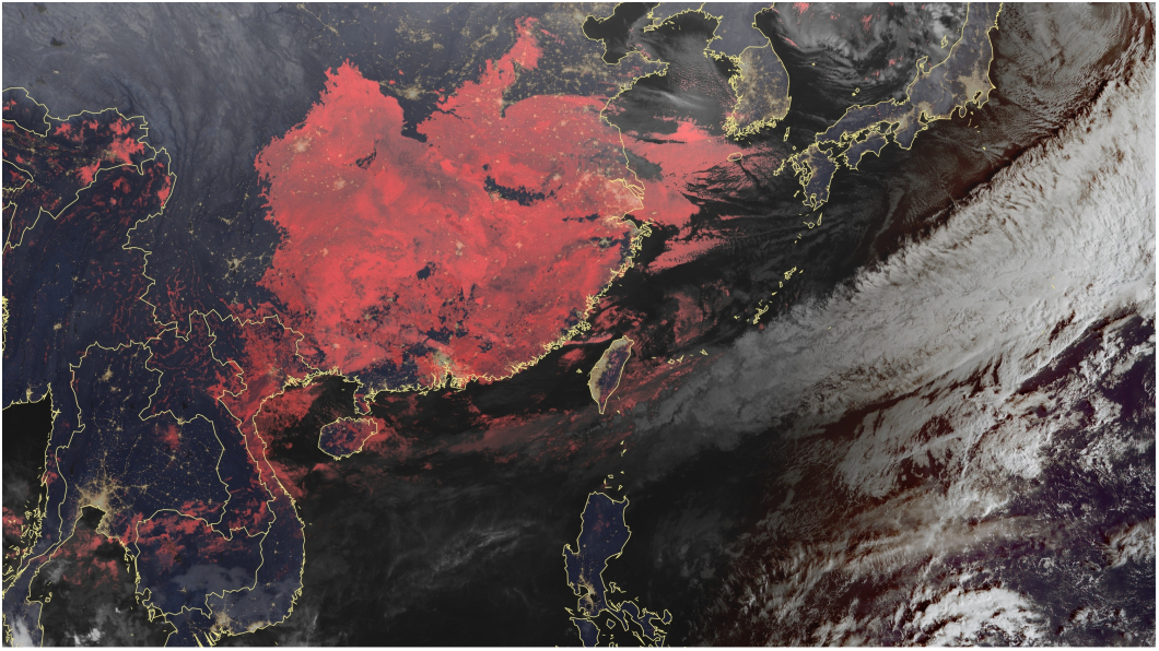 圖/中央氣象局 下午變天!整週降雨一波波 冷氣團月底到探12度