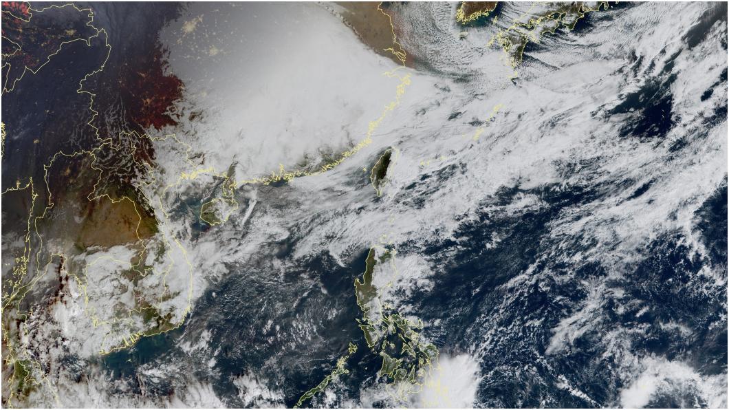 圖/中央氣象局 「強冷空氣」週末到! 濕冷10度全台凍5天