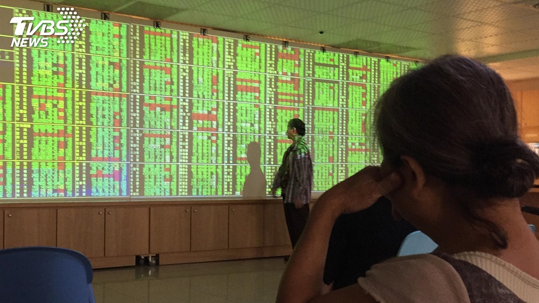 圖/中央社 台積電拉尾盤 台股突破10500點關卡