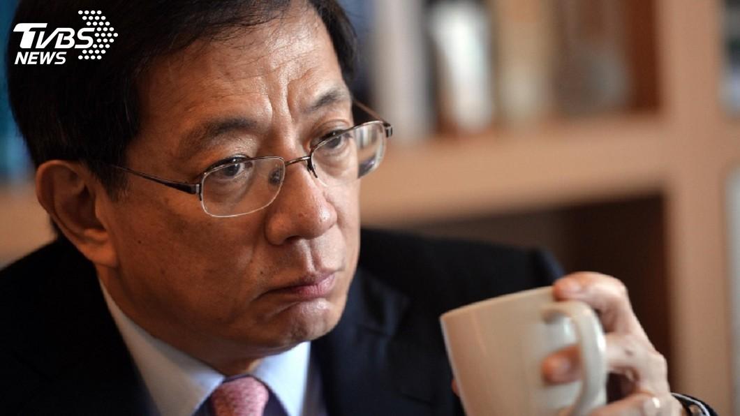圖/中央社 管中閔因眼疾請假3周 監院考慮不再約詢兼職案