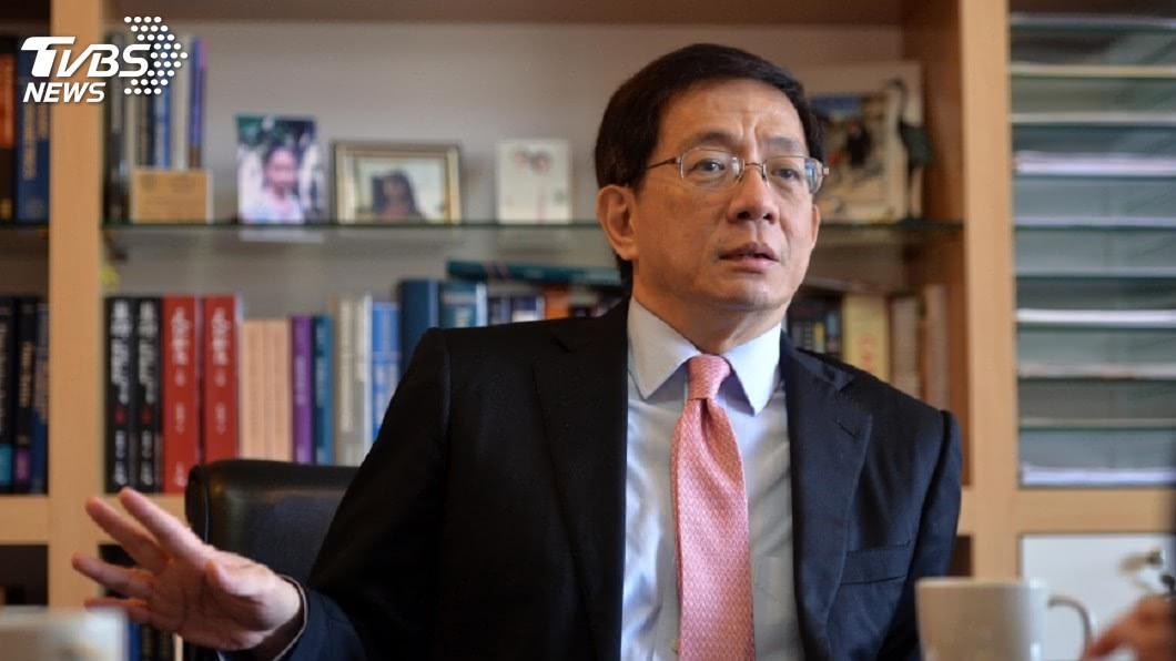 圖/中央社 被公懲會判申誡 管中閔引用陳子昂詩作回應