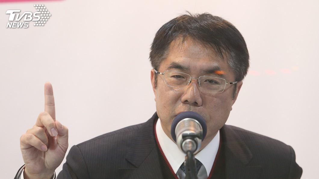 圖/中央社 就職台南市長滿月 黃偉哲自評表現75分
