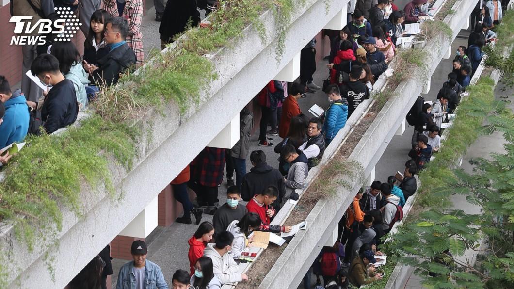 圖/中央社 大學個人申請 通過篩選比率8成1創新高