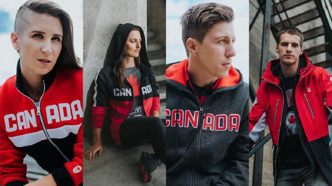 加拿大隊冬奧服裝。圖/Forbes官網
