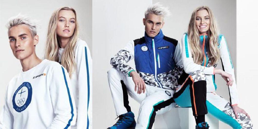 芬蘭隊冬奧服裝。圖/Forbes官網