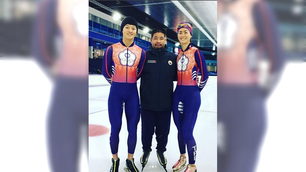 中華隊冬奧服裝。圖/戴瑋麟instagram 冬奧中華隊服簡約 挪威「華麗噴漆風」今年最醜