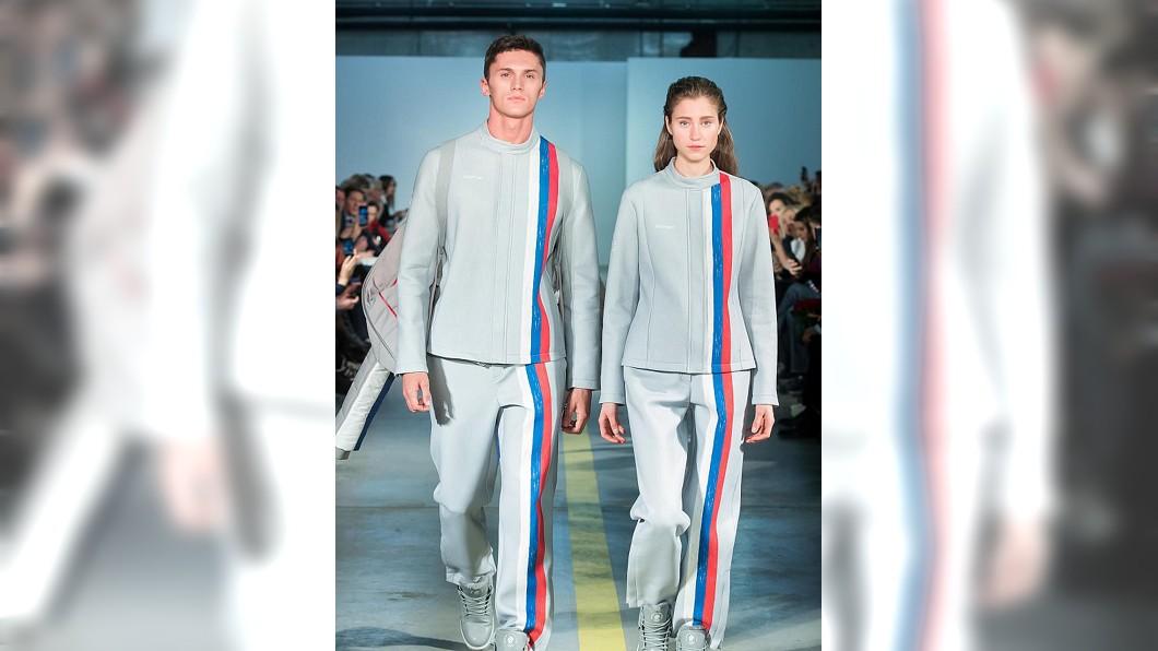 俄羅斯隊冬奧服裝。圖/Forbes官網