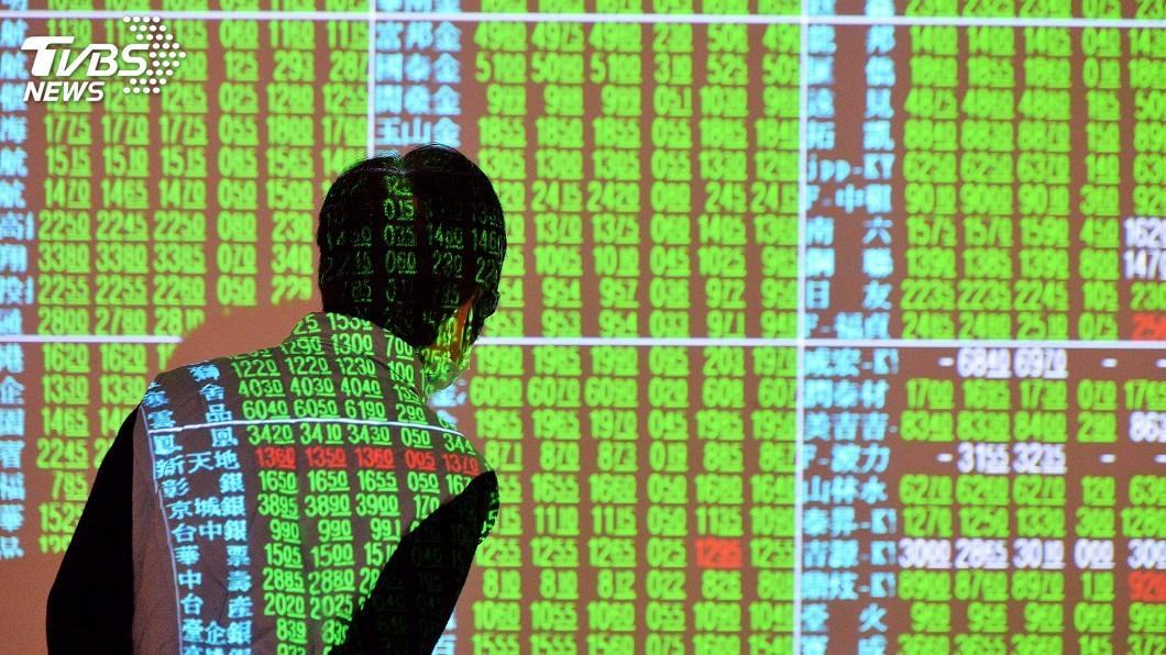圖/中央社 權值股遇亂流 台股收跌逾159點