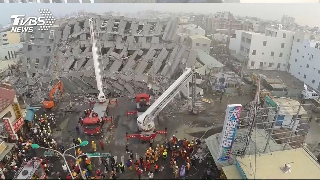 圖/TVBS 回應張善政 賴清德:台南震災善款未用產業