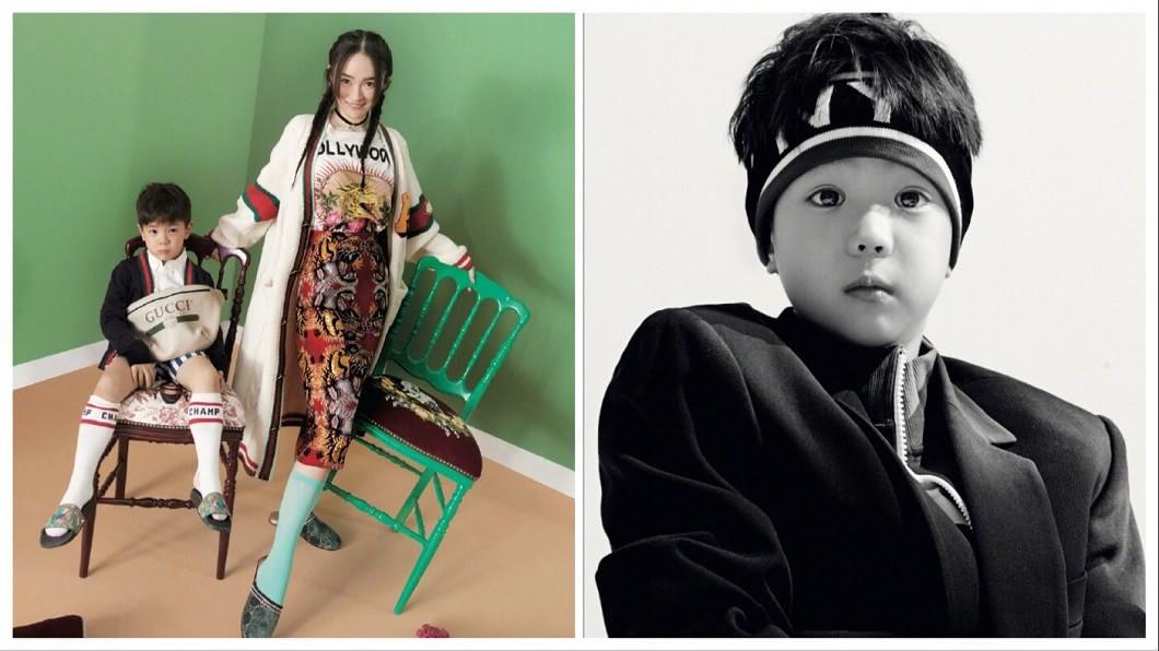 圖/翻攝自霍思燕微博 嗯哼大王拍寫真根本韓星!合照女神媽咪網瘋讚「好酷」