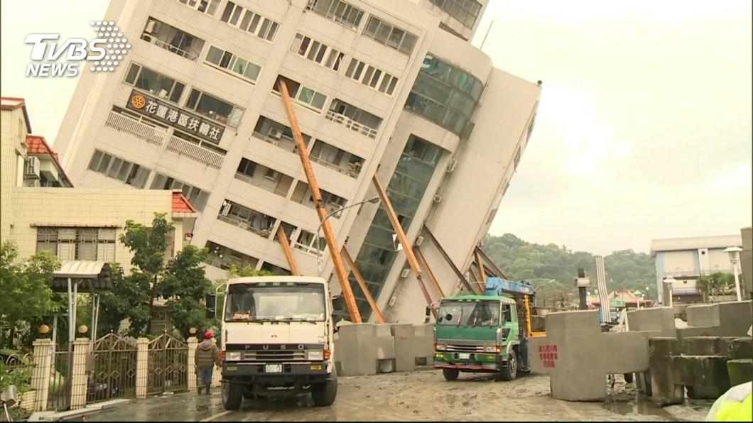 圖/TVBS資料畫面 花蓮地震雲翠大樓倒釀14死 檢起訴建商3人