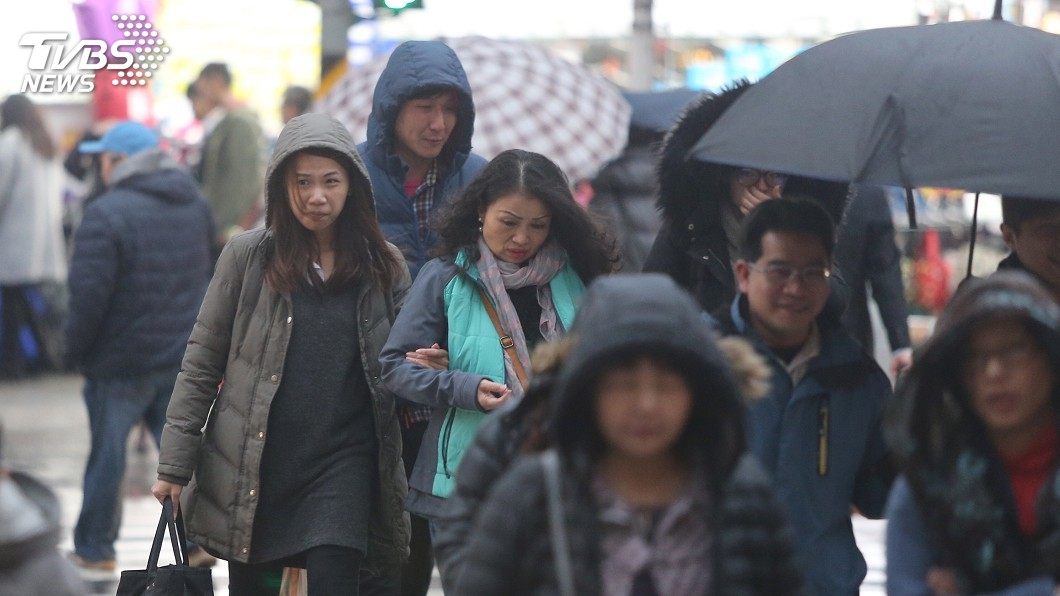 示意圖/TVBS資料畫面 逼近強烈冷氣團!初四變天溫度暴跌「全台灣都會很有感」
