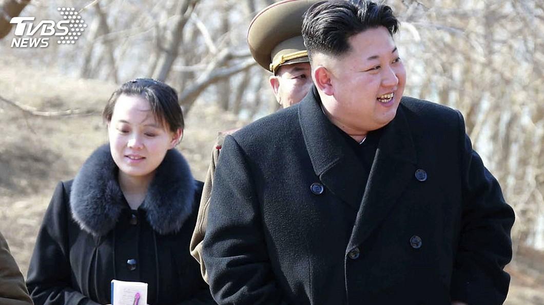 圖/達志影像美聯社 金正恩派胞妹訪南韓 專家:有特別「任務」